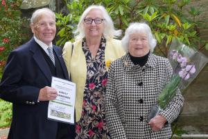 PC BFG 2017 Winners 11 Cllr Janet King with Victor and Mary Buzderewicz WEB Keith Woolford 10-9-17