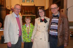 PC BFG 2017 Winners 5 Sara Woodhouse (new Cllr) and family WEB Keith Woolford 10-9-17