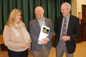 PC Annual Assembly L-R Helen Doherty EO, (Cllr) Steve Tibbits and Cllr. Nick Forknell 2 WEB 3-4-17