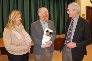 PC Annual Assembly L-R Helen Doherty EO, (Cllr) Steve Tibbits and Cllr. Nick Forknell 3 WEB 3-4-17