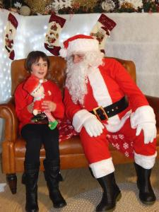 Santa with Laura at BFS 3 RGB Simon Woolford 1-12-17