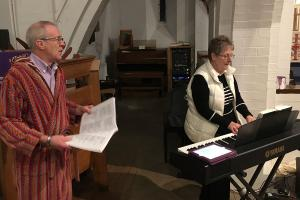 St Catherines Church Nativity 27 WEB Keith Woolford 24-12-17