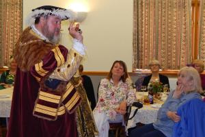 8. Wi at Burcot Henry VIII holding court 2 WEB RGB - Keith Woolford 26-4-17