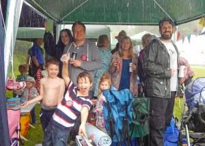 BF Rain tent 2015