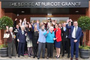 Burcot Grange, The Lodge opening 1 RGB Keith Woolford WEB