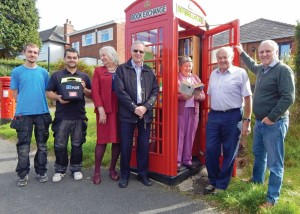 Defibrillator & book exchange Launch Group 3 8-10-15