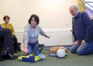 PC Defib training 3 by Michelle Lewis 6-11-15