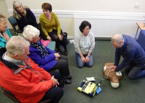 PC Defib training 4 by Michelle Lewis 6-11-15.