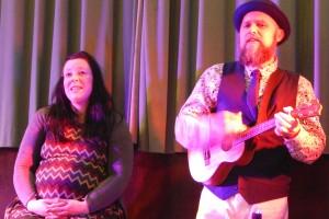 Kel and Kelvin's duet 'Last Kiss' Keith Woolford WEB