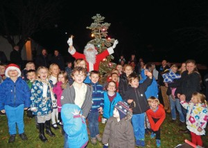 Blackwell tree lighting 4-12-15