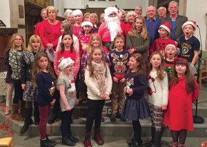 Lickey Tree Lighting,  choirs 2015