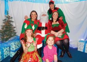 Santa & Elves Lickey School Christmas Fayre Grotto 21-11-15