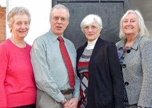 Libby, Nick, Sandra and Janet PC Tea Web 24-2-16
