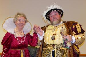 10. Wi at Burcot Queen Elizabeth I-Rae Fowler and Henry VIII-John White WEB RGB - Keith Woolford 26-4-17