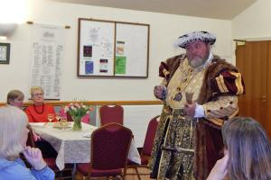 6. Wi at Burcot Henry VIII holding court 6 WEB RGB - Keith Woolford 26-4-17