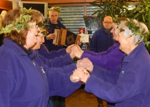 Wassail 2016, Step on Board and Bob Bignall 16-1-16