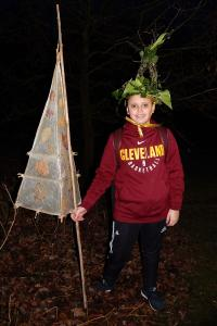 Wassail 15 WEB Matthew crowned 'King Bean' Simon Woolford 13-1-18