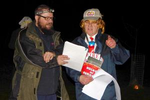 Wassail 30 WEB Keith Woolford as 'McDonald Trumpty' Simon Woolford 13-1-18